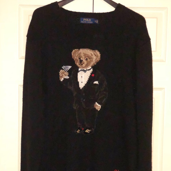 Limited Edition Polo Bear Lauren Sweater Ralph Nwt pSVUzM